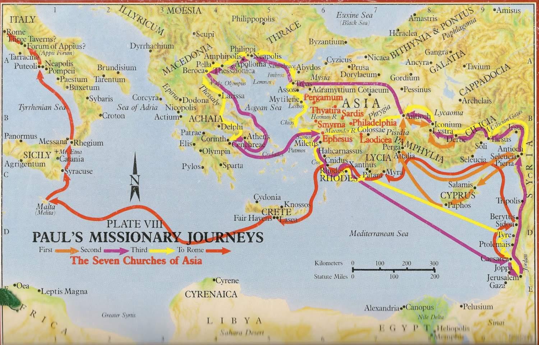 JLB Mens Ministry - Apostle Pauls Journey -